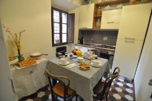 Cucina comune - piano terra